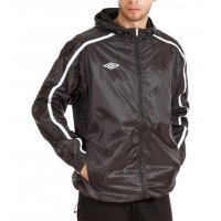 65314f47 410213 618 STADIUM SHOWER JACKET куртка в/з муж. (618) чер/бел/сер