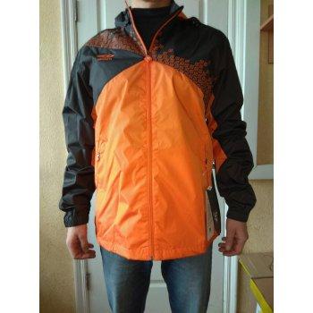 410115 8R1 ARMADA SHOWER JACKED  в/з куртка (8R1) т.сер./оранж./бел