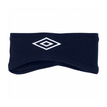 770113 091 FLEECE HEADBAND ((091) т.син/бел