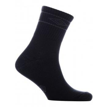 590114 068 SMALL TEAM SOCKS, носки (068) чер/т.серый