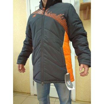 440115 8R1 ARMADA PADDED JACKET утепл.куртка (8R1) т.серый/оран/бел