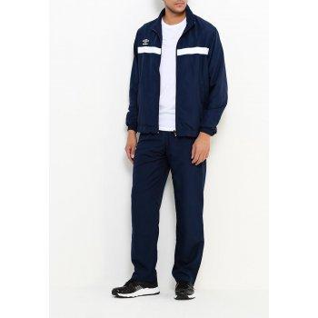 462016 091 SMART LINED SUIT, костюм спортивный, муж (091) т.син/бел