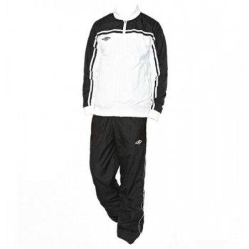 460213 161 STADUIM LINED SUIT костюм спорт.,муж. (161) бел/чер/бел