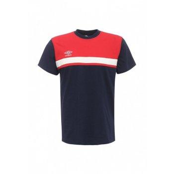 312016 921 SMART COTTON TEE, футболка, муж (921) т.син/красн/бел