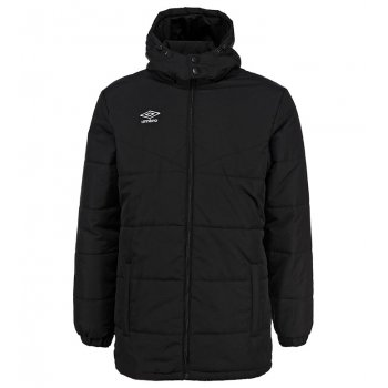 443015 661 UNITY PADDED JACKET куртка утепл. (661) чер/чер/бел
